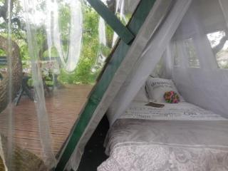 vue chambre et terrasse