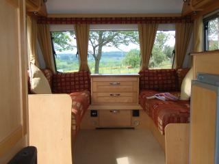 3 Berth Luxury Caravan with Chateau Views