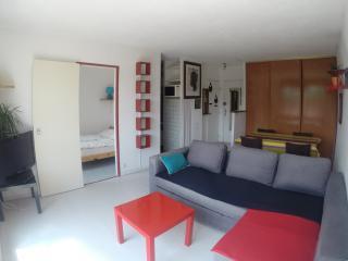 Seignosse: Agréable Appartement T2 avec balcon à 10 min à pieds de la plage