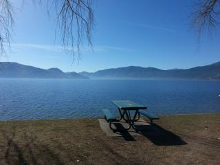 Newly Renovated Private Lake view Cottage, Peachland