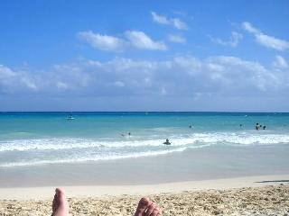 Mamitas Beach Club - a short 5 minute walk to the carribean!