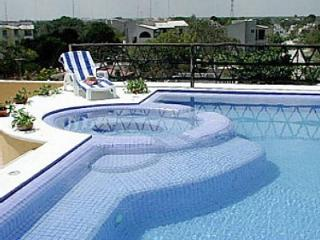 Palma Xiat - Las Palmas Rooftop pool, location.