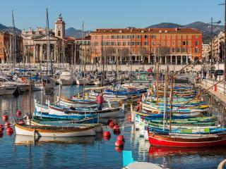 Cosy 2 pieces  au coeur du port de Nice