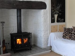 Lounge with Logburner