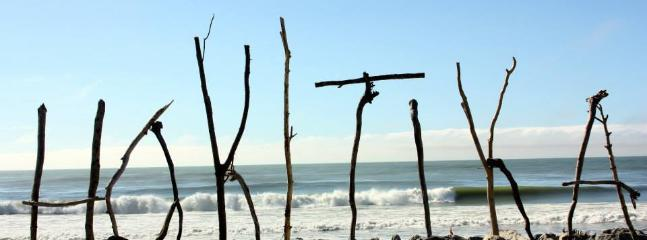 Hokitika, home of the Driftwood and Sand sculpture competition every summer.