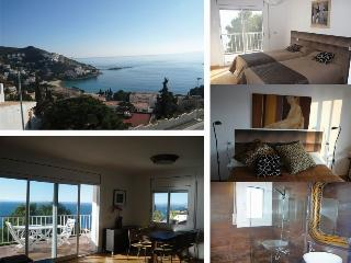 *Duplex de Charme* belle vue mer Crique et Castel, Rosas