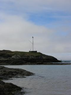 The boat mast at Trearddur