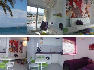 *Appartement d'artiste*,terrasse,belle vue mer,pkg