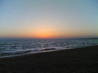 Un tramonto spettacolare...