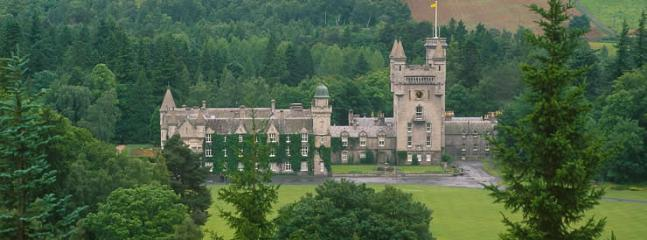 Balmoral castle is just 1 mile from the cottage and open most of the year (closed August-September)