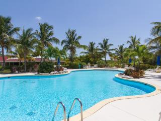 Ocean View 2 bdrm pool, hot tub and private beach