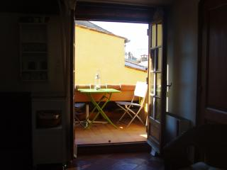 Roof terrace studio in the heart of Old Antibes