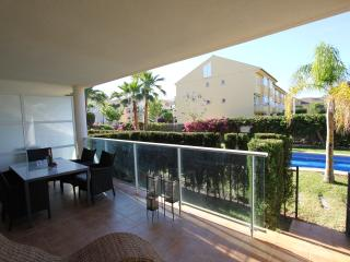 Ground floor location with Garden and Pool access from private south facing terrace