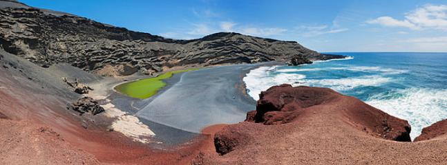 El Golfo which is only a 15 minute drive away to see the green lake and much more.