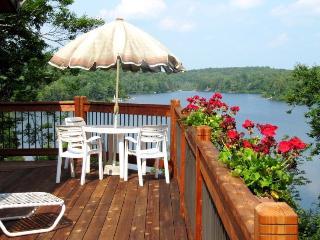 Magnificent lakefront home on pristine lake