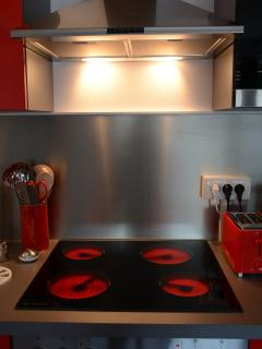 Plaque vitro-céramiques 4 foyer