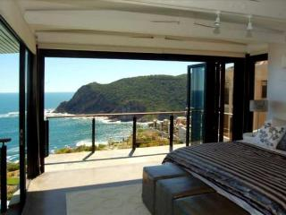 Cliff House, at Knysna Heads, 4 Bedroom Villa with Pool, on beautiful Garden