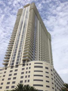 La Perla - oceanfront luxury building.