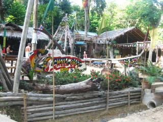 Jungle hut at Chill Out Bar Bungalow, Tonsai beach, Krabi