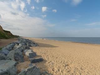 Stunning beach just 5 minutes walk from the chalet