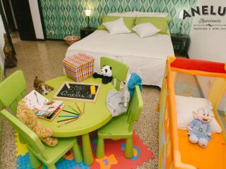 child corner with cot