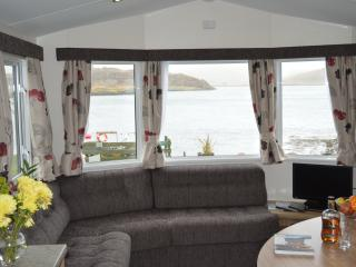 All our holiday homes have great views over Cuan Sound, this is Heather's.
