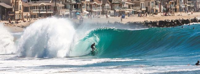 West Newport Surfer