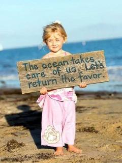 Be kind to our oceans!