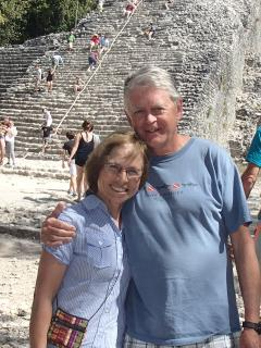 Your hosts at the Coba ruins