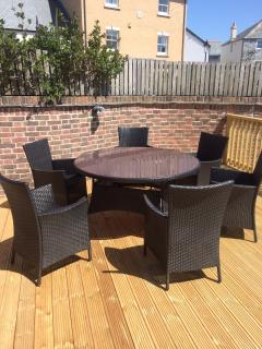 New decking and furniture for 2015