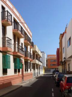 BUILDING IN THE HISTORIC CENTER CORRALEJO