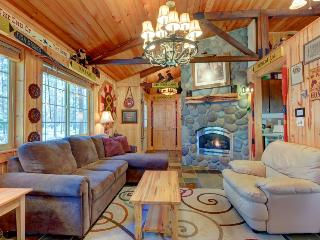 Charming cabin w/ private hot tub, SHARC passes, great location - dogs ok!