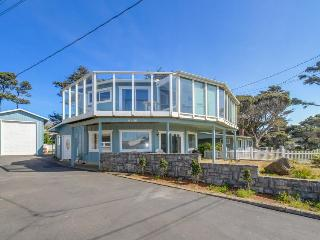 Unique, spacious home with private hot tub, game room, and great ocean views, Gleneden Beach