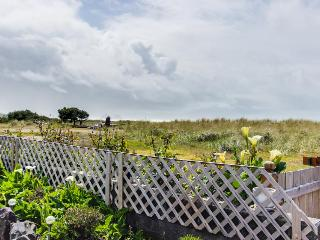 Pet-friendly oceanfront home with a yard!, Rockaway Beach