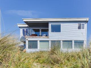Oceanfront, dog-friendly home perfect for a family beach trip!