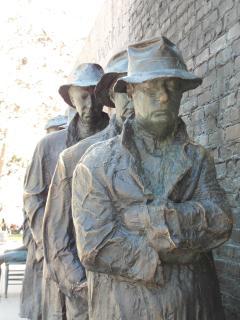 'Breadline' The Great Depression Monument