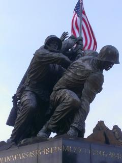 Marine Corps War Memorial - aka Iwo Jima Memorial