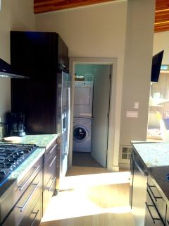 kitchen- pantry and washer dryer