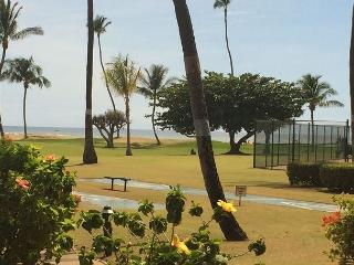 Maui Sunset #A-117  Oceanfront, Ocean View, 1 Bd 2 Bath, Ground Floor, Sleeps, Kihei