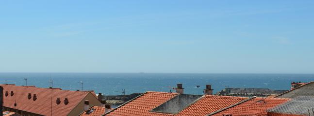 Panorámica sobre el puerto, desde el balcón trasero.