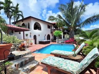 St. John Villa Rental with pool, Coral Bay