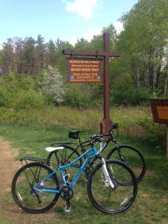 Just 1 mile from home - hiking, biking, walking trails