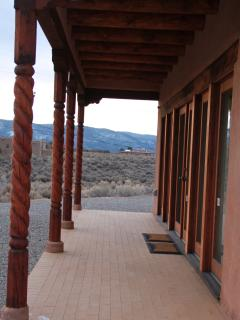 Back porch (portal), outside of great room
