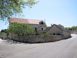 Dalmatian stone house on the island of Brač
