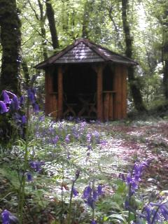 Summer House in the woods of Brewsterfield Lodge