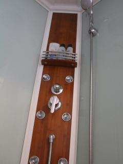 Modern spa shower