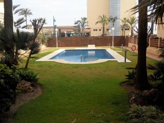 3 Bedr. self catering Beach Apartament, Málaga