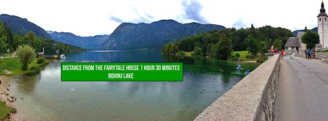 Fairytale wooden house near Ljubljana-lake bohinj 1,5 hour