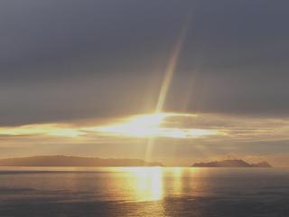 täglicher Sonnenaufgang
