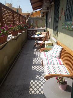 terrazzo per momenti di relax